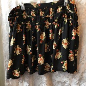 LOFT floral skirt-Ladie 14